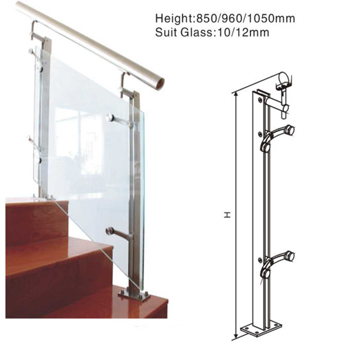 China Supplier Stainless Steel Balustrade Railing