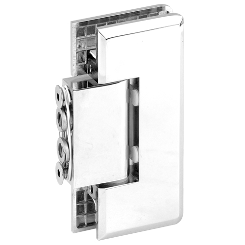 Beveled Economy Water Proof Shower Hinge without Back Plate