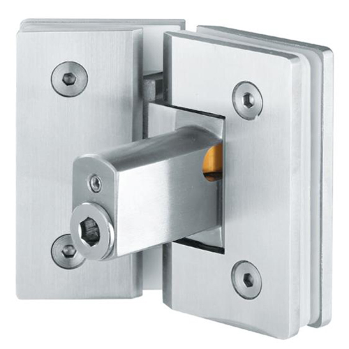 Top Quality China Shower Wall Mounted Glass Hydraulic Hinge Fixed Panel