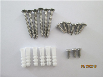 Stainless steel replacement screws